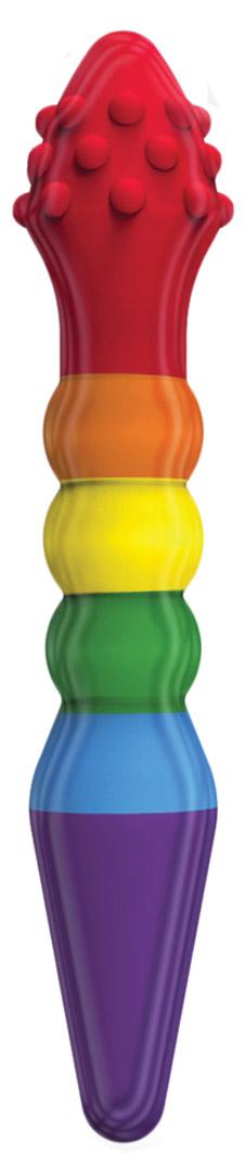 Rainbow Dildo - Knob Job