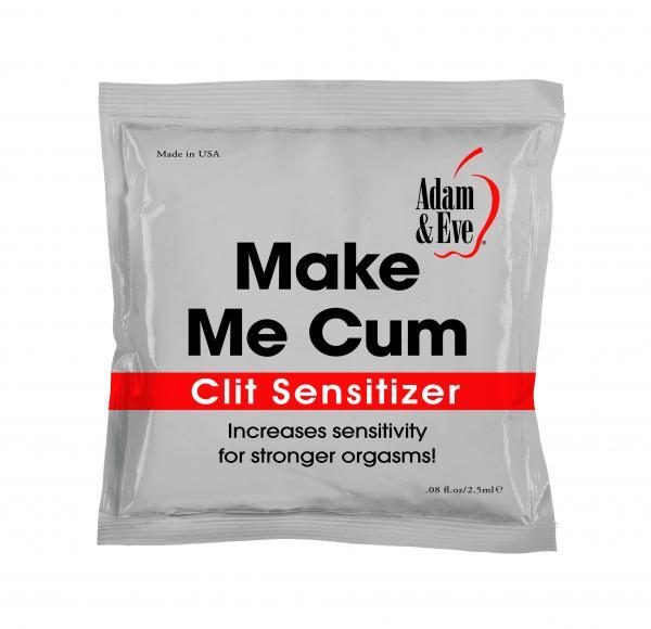 Adam and Eve Make Me Cum Clit Sensitizer - 2.5ml Foil Pack