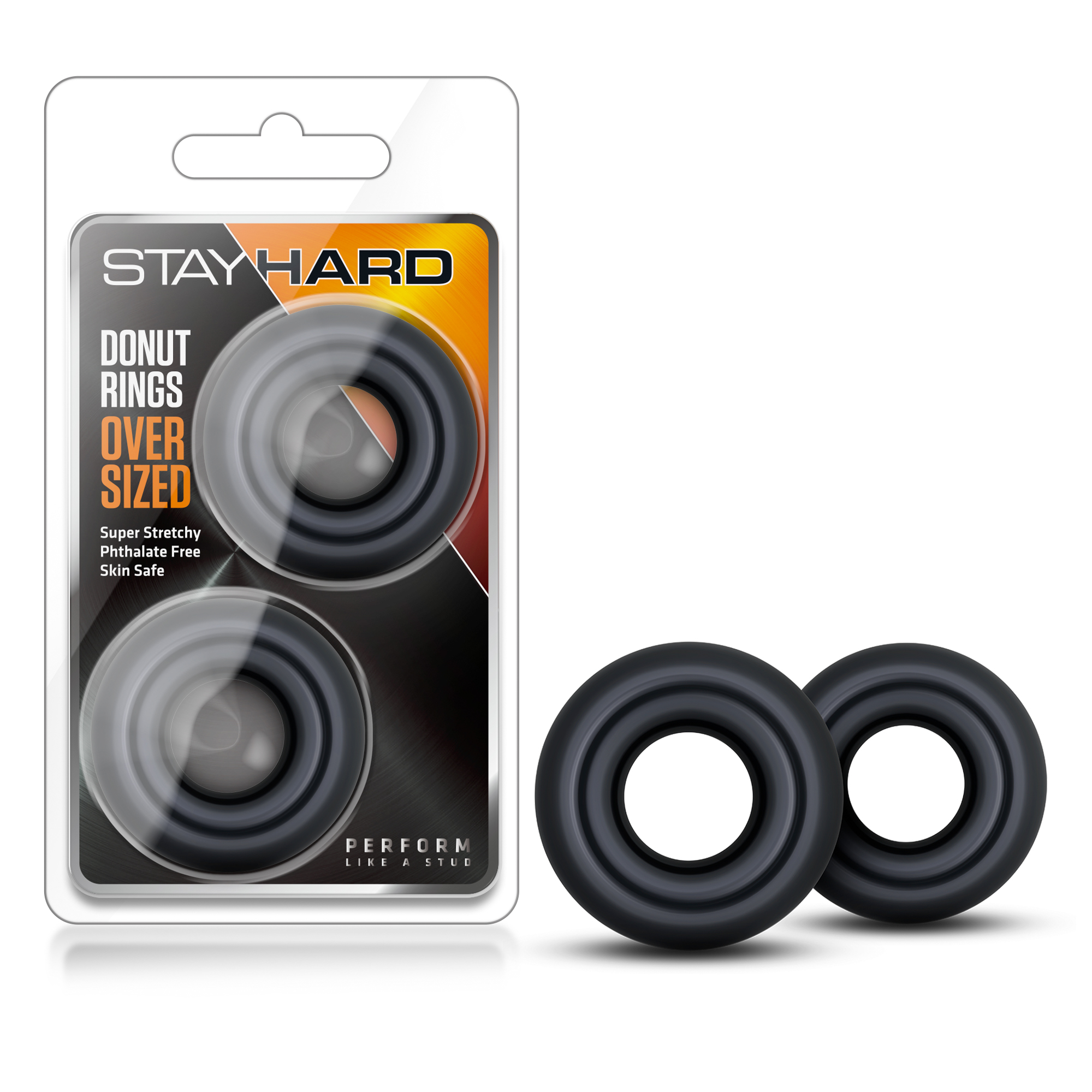 Stay Hard Donut Rings - Over Sized