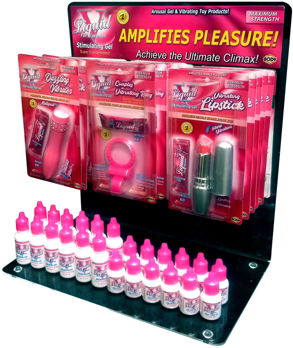 Liquid V Vibrating Lipstick Kit by Body action products