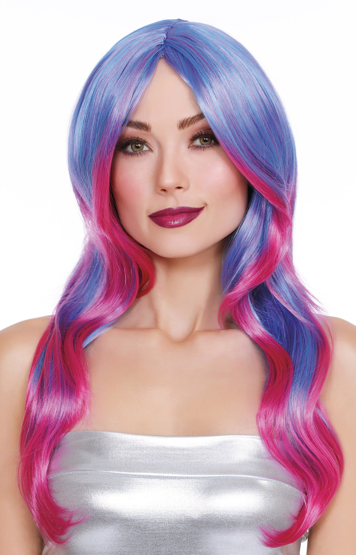 DG-11690MLT Layered Long Wig With Faux Ombre Honeys Place